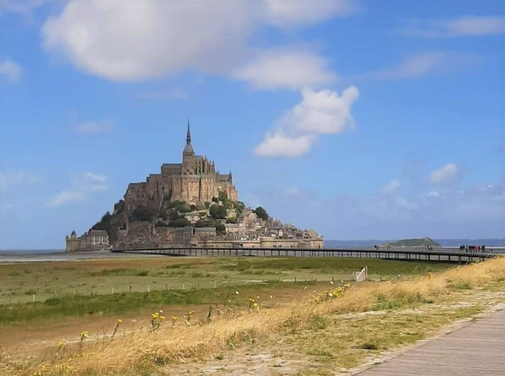 Le Mont Saint-Michel: UNESCO werelderfgoed met een goudenrandje
